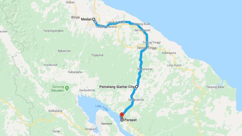 Day 6 - 13 Maret 2019 Medan - Parapat ( via Pematang Siantar)
