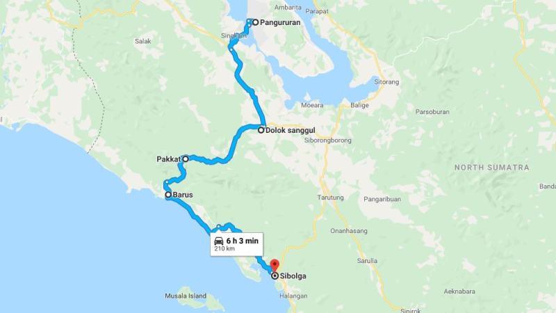 Day 8 - 15 Maret 2019 : Samosir - Sibolga (via Dolok Sanggul, Pakkat, Barus)