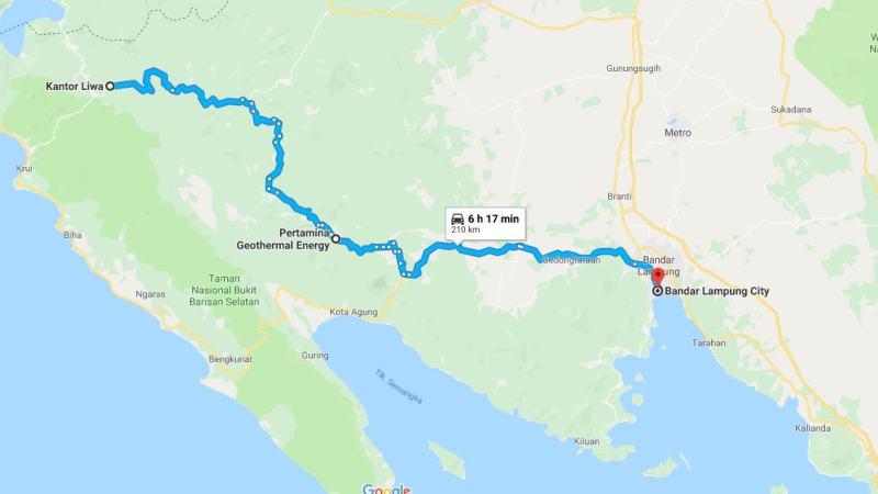 Day 19 - 26 Maret 2019 : Liwa - Bandar Lampung (via Pertamina Geothermal Ulubelu)