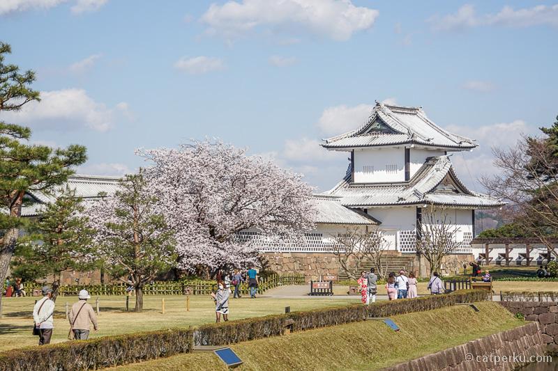 Bagian dalam Kastil Kanazawa