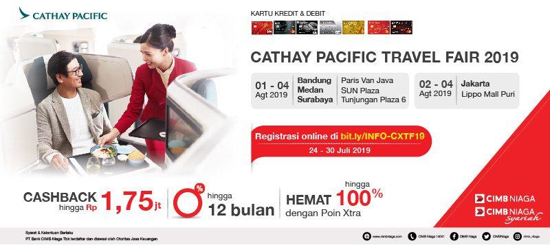 Cathay Pacific Travel Fair 2019