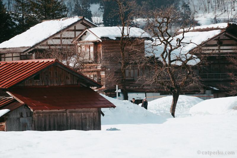 Beberapa rumah yang ada disini sudah modern.