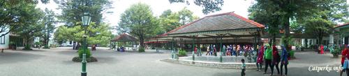 Salah satu bagian dalam Keraton Yogyakarta