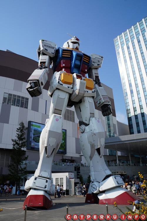 Gundam si penjaga Kota Odaiba