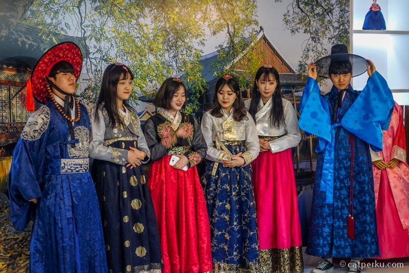 Bisa cobain Hanbok, baju tradisional Korea secara gratis di K-Hub Style