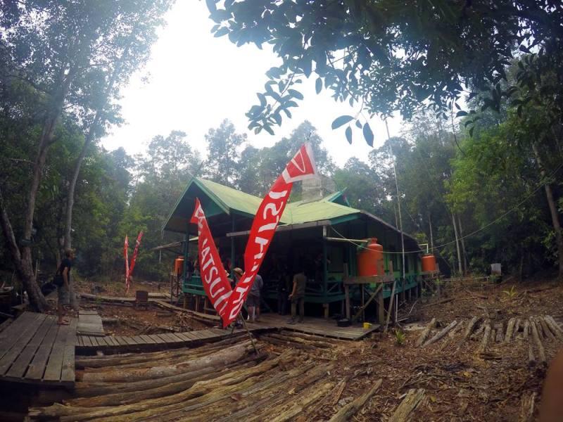 Camp WWF Punggu Alas benar-benar berada di tengah hutan!