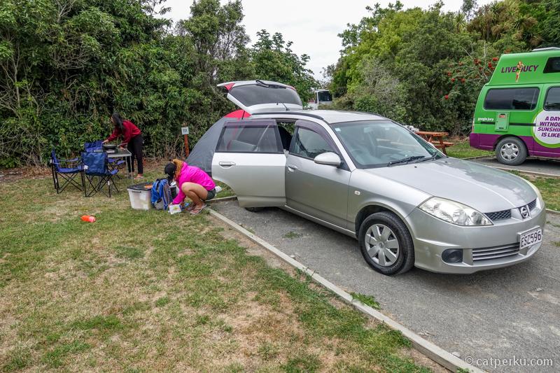 Nissan Wing Road, mobil yang cukup murah dan efektif untuk road trip di New Zealand