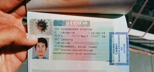Cara Buat Visa Schengen Di Kedutaan Jerman Sendiri!