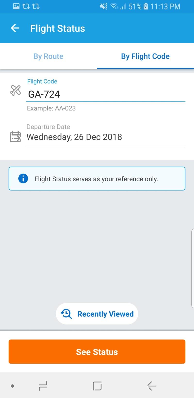 Cara menggunakan fitur Flight Status Traveloka ini sangat mudah sekali kok!