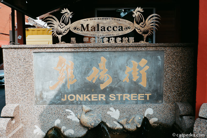 Cobain Kuliner Di Melaka di Jonker Street.
