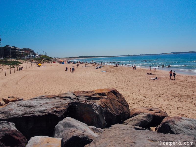 Cronulla Beach, pantai yang garis pantainya panjang pake banget!