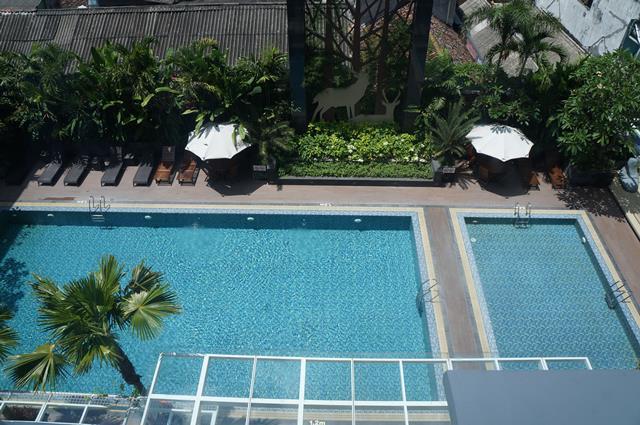 Favorit saya di Gallery Prawirotaman adalah kolam renangnya!