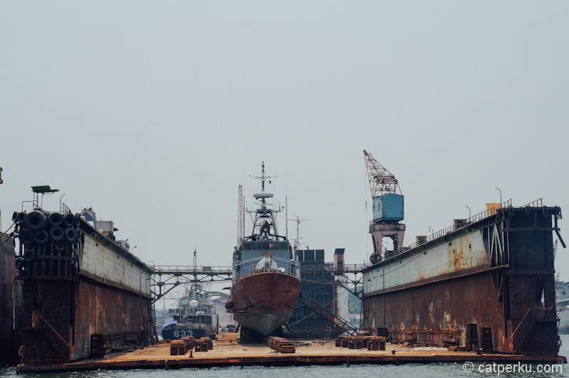 Galangan untuk perbaikan kapal