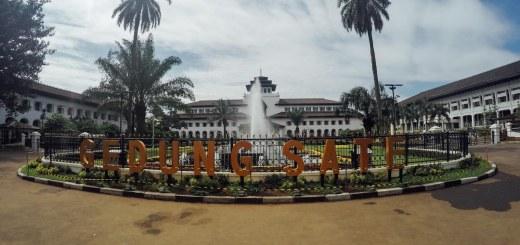 Gedung Sate, salah satu Ikon Kota Bandung