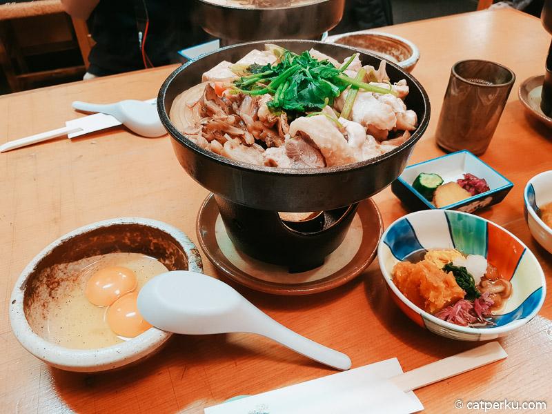 Hinai Chicken Udon, salah satu menu makanan di Kakunodate.