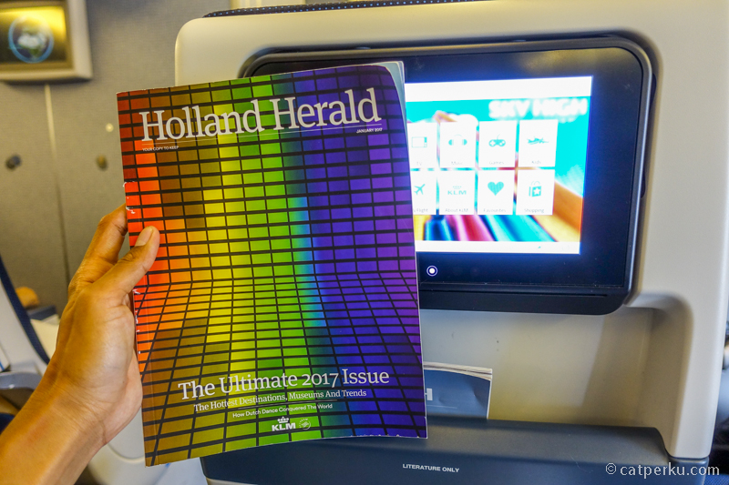 Holland Herald, inflight magazine KLM Royal Dutch Airlines