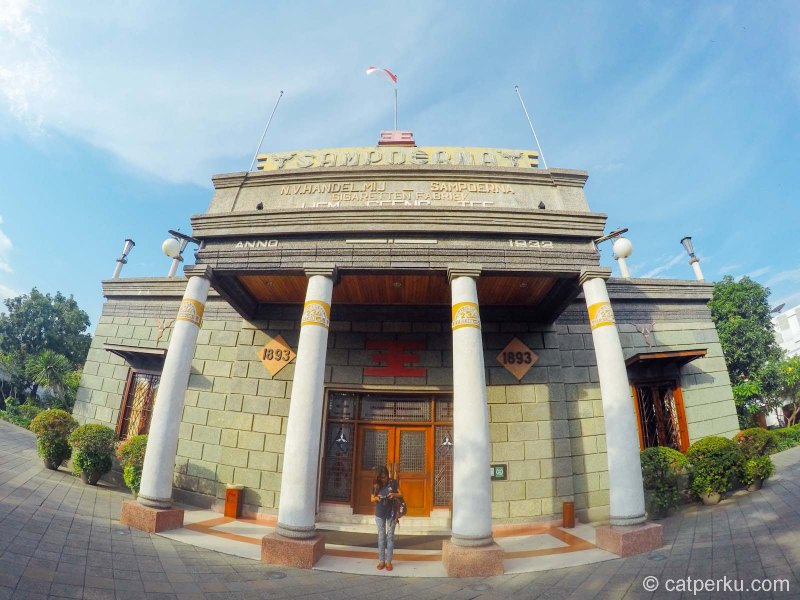 House Of Sampoerna Surabaya Museum, Menelisik Jejak Sukses Saudagar Tembakau Di Surabaya