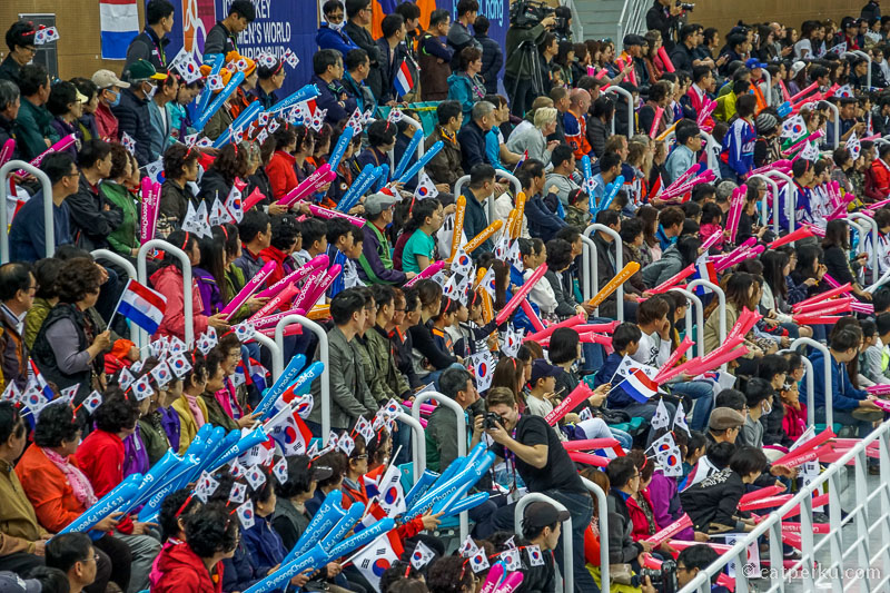 Ice Hockey tampaknya lumayan populer di Korea Selatan
