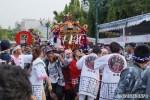 Arak - arakan omikoshi dan Dashi yang dibawa mengelilingi area festival
