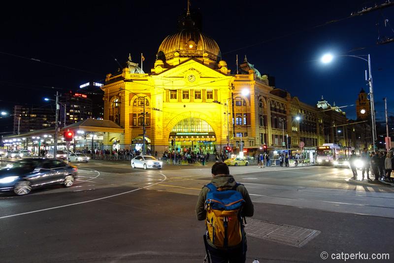 Jalan-jalan di Melbourne CBD juga seru kok!
