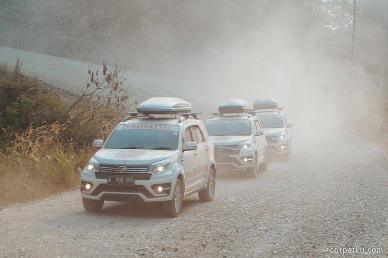 Jelajah kalimantan bersama Astra Daihatsu Motor, salah satu perusahaan yang masih satu grup dengan ASTRA!