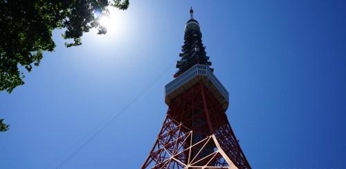 Tokyo tower yang cuma ada di Jepang ^^