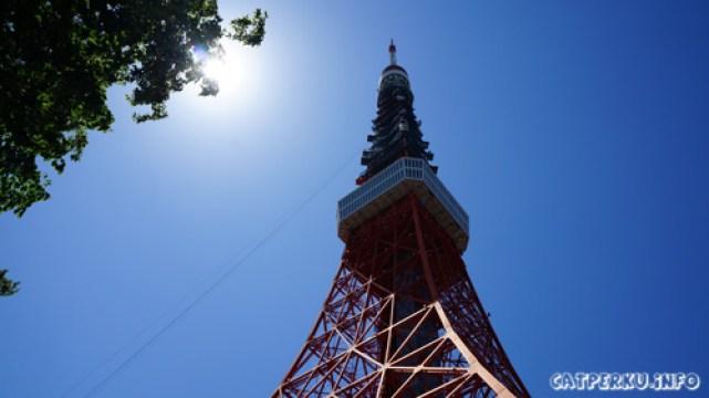 Tokyo tower yang begitu terkenal ^^