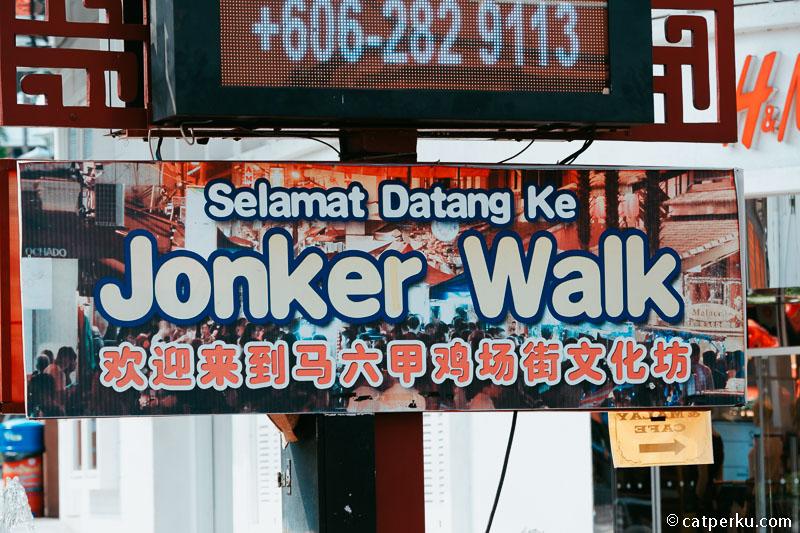 Jonker Street Melaka Malaysia.