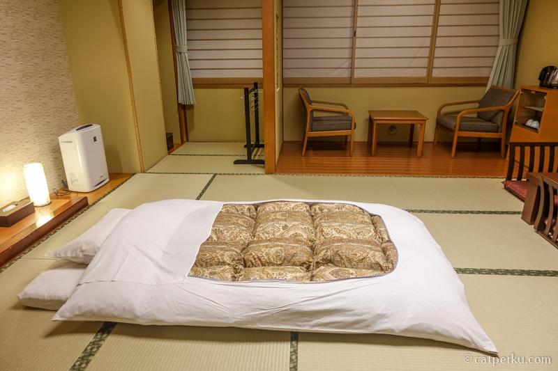 Dengan memesan jauh-jauh hari, kadang bisa mendapatkan penginapan murah di Jepang.