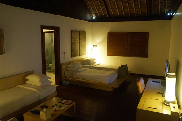 Kamar Deluxe di Monsoon Lodge.