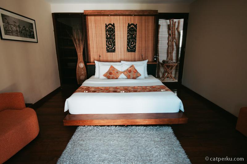 Kamar kedua di unit villa yang saya tempati.