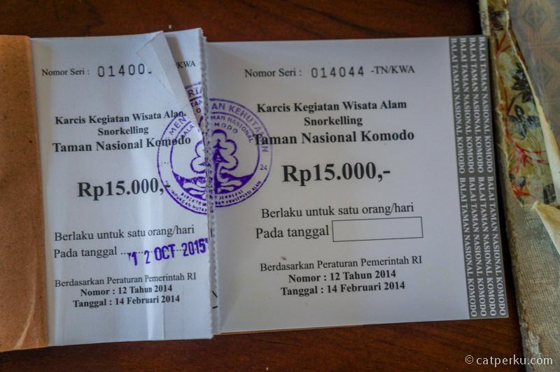 Karcis Kegiatan Wisata Alam Snorkeling IDR 15.000