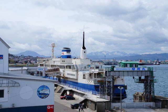 Sebelum ada terowongan Seikan, kapal inilah transportasi utama untuk menyeberang ke Pulau Honshu.