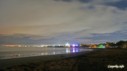 Kuta Beach Face, Night Version