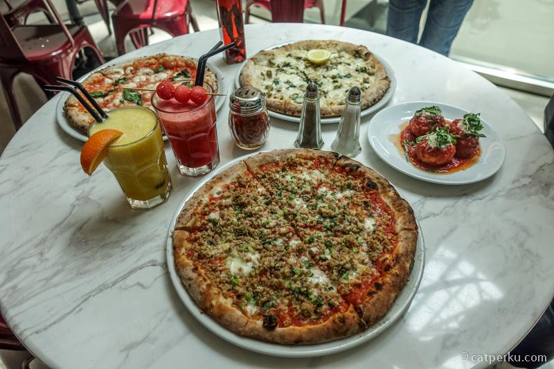 Mampir ke Motorino dan cobain beberapa menu pizza mereka!