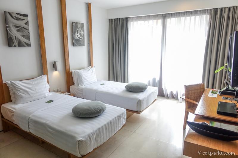 Nice and clean room! Kamar saya selama menginap di The Haven Seminyak!