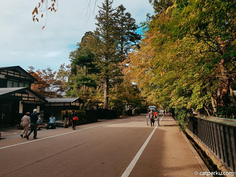 Pada sepanjang Bukeyashiki Street atau Jalan Bukeyashiki inilah terdapat beberapa rumah para samurai.
