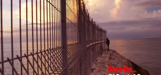 Senja di Pantai Segara