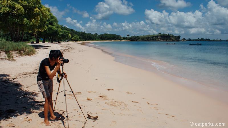 Pantai yang sangat fotogenik juga