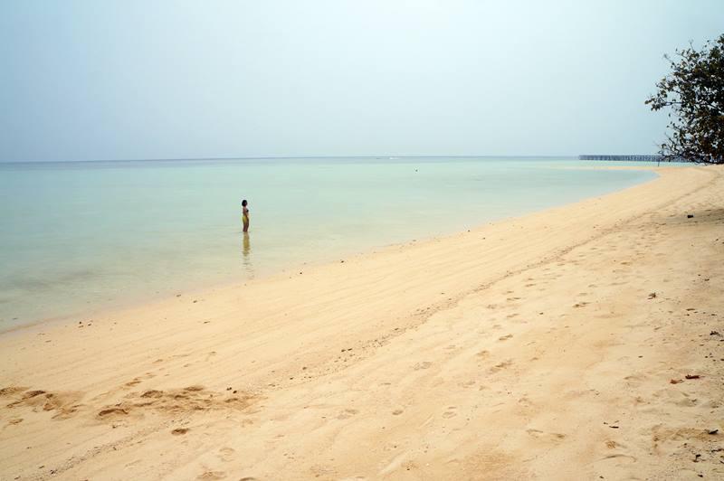 Pasir Putih Pulau Sangalaki yang begitu menggoda :D