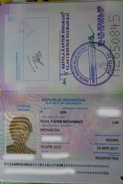 Passport / paspor Republik Indonesia 48 H yang sudah jadi