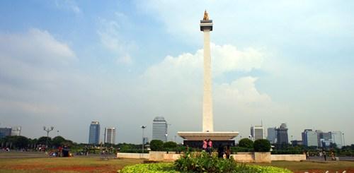 Monas salah satu ikon Ibukota Jakarta