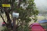 Selamat datang di Pondok Salada, camping ground Gunung Papandayan! Selalu jaga kebersihannya ya!