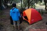 Tenda saya ngejreng banget ya warnanya XD