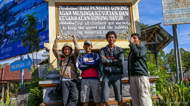 Post Pendakian, Starting Point Pendakian Ke Gunung Batur
