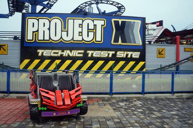 Project X Roller Coaster khusus keluarga berencana