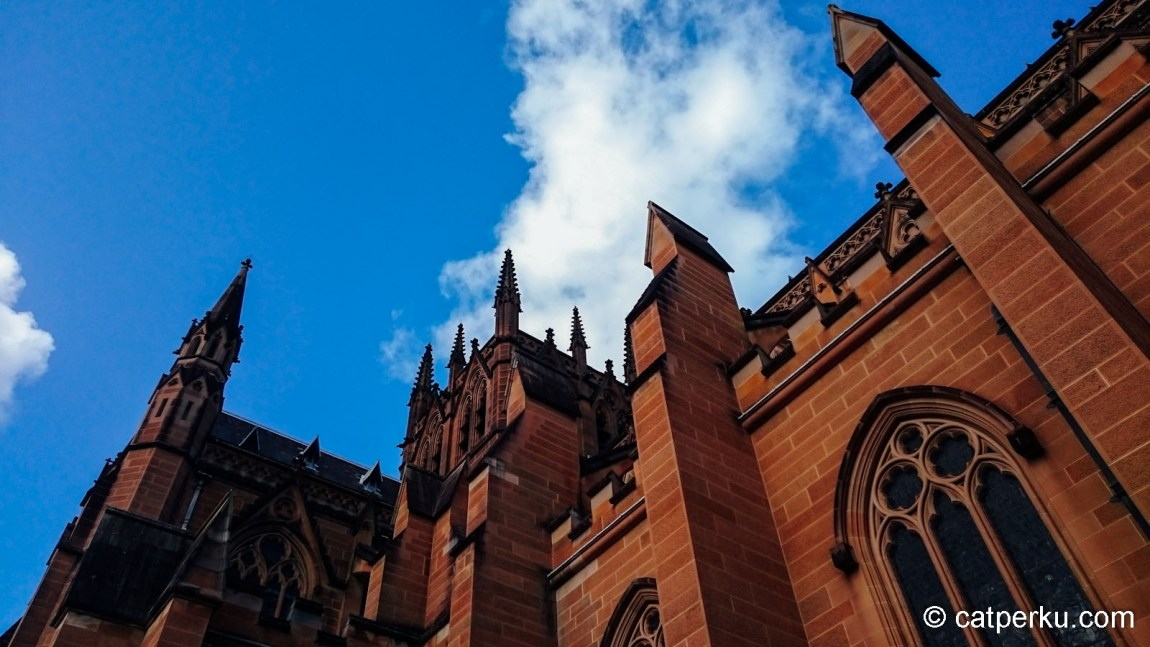 Salah satu sudut St Marry's Cathedral