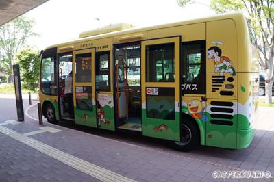 Shuttle bus ini akan mengantarkan dari Stasiun Noborito hingga museum dan sebaliknya.