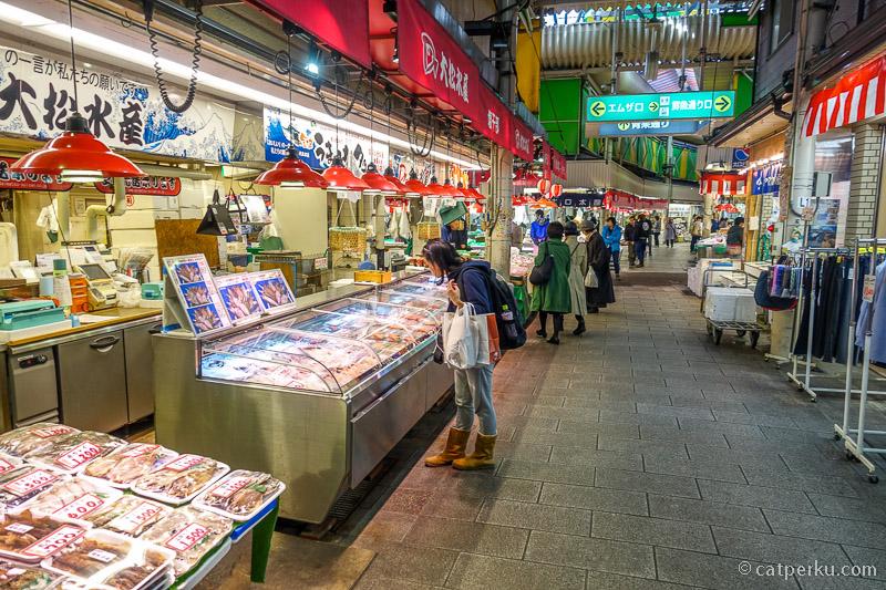 Suasana di Omicho Market