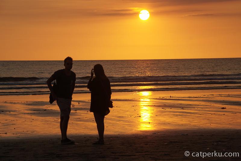Sunset di pantai ini adalah salah satu yang terindah di Bali lho!